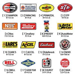 選べるステッカー 10枚セット ステッカー 車 レーシング モーター アメリカ雑貨 アメリカン雑貨 アメ雑|choppers