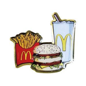 マクドナルド ピンズ ピンバッチ ピンバッジ セットメニュー マック McDonald's アメリカン雑貨 アメ雑