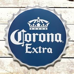 コロナ ボトルキャップ サイン CORONA EXTRA コロナエクストラ ビール 看板 立体看板 アメリカン雑貨 アメ雑 choppers