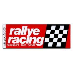 rallye racing ラリーレーシング ステッカー ラリー レーシング アメリカン雑貨 アメ雑|choppers