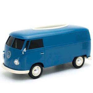 フォルクスワーゲン バス ティッシュボックス ブルー VW T1 BUS TISSUE BOX PLUS ティッシュケース WELLY アメリカン雑貨 アメ雑 choppers
