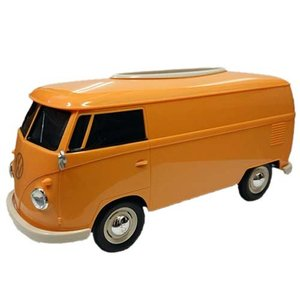 フォルクスワーゲン バス ティッシュボックス イエロー VW T1 BUS TISSUE BOX PLUS ティッシュケース WELLY アメリカン雑貨 アメ雑 choppers
