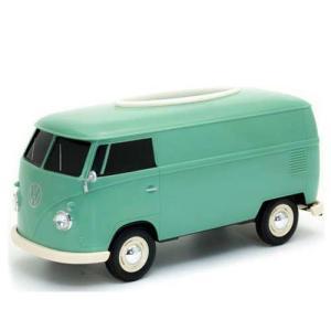 フォルクスワーゲン バス ティッシュボックス グリーン VW T1 BUS TISSUE BOX PLUS ティッシュケース WELLY アメリカン雑貨 アメ雑 choppers