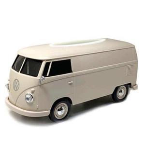 フォルクスワーゲン バス ティッシュボックス クリーム VW T1 BUS TISSUE BOX PLUS ティッシュケース WELLY アメリカン雑貨 アメ雑|choppers