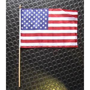 星条旗 フラッグ 木製ポール付き 10本セット アメリカ国旗 USA アメリカ雑貨 アメリカン雑貨 choppers