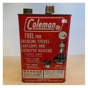 コールマン ヴィンテージ ガソリン缶 Coleman オイル缶 ガス缶 R-48-4 アメリカン雑貨|choppers