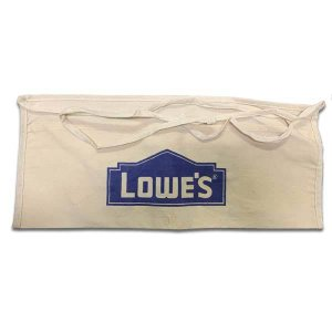 ロウズ エプロン LOWE'S DIY 腰袋 前掛け 道具袋 アメリカン雑貨