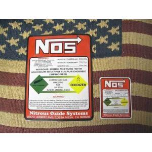 NOS ステッカー スーパービッグ WARNING ステッカー ワイルドスピード アメリカ雑貨 アメリカン雑貨 choppers