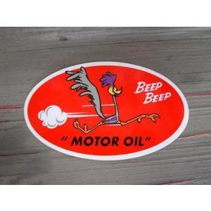 ロードランナー MOTOR OIL ステッカー 世田谷ベース アメリカ雑貨 アメリカン雑貨|choppers
