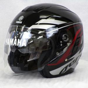 YAMAHA ヘルメット AEROX【ブラック/XLサイズ】  #90791-13R06-2T【タイYAMAHA製】【装飾用ヘルメット】|chops-webshop
