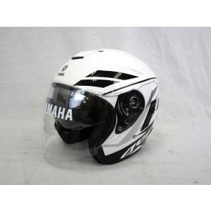 YAMAHA ヘルメット AEROX【ホワイト/XLサイズ】 #90791-13R07-2T【タイYAMAHA製】【装飾用ヘルメット】|chops-webshop