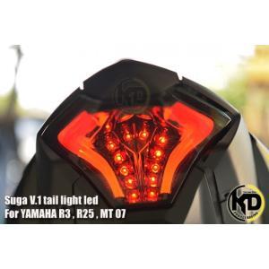 KD PROJECT RACING ヤマハ YZF-R25 MT-25 SUGA V1 LED テールランプ ユニット|chops-webshop