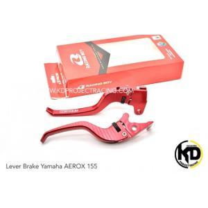 KD PROJECT RACING ヤマハ AEROX155 エアロックス155 レーシングボーイ ブレーキレバー 左右セット 【レッド】 chops-webshop