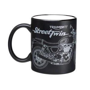 Triumph STREET TWIN MUG マグカップ #MMUA16384|chops-webshop