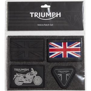 Triumph T18 VELCRO PATCH SET FOR LUGGA ワッペン #MPAS18332|chops-webshop