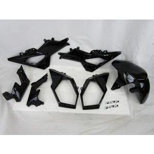 タイHONDA 純正 GROM/MSX125SF【'16/06以降のモデルに適合】 カウルセット ブラック 【タイHONDA製 グロム】|chops-webshop