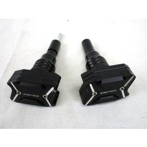 YAMAHA YZF-R25/R3 フレームスライダー CNC アルミ削り出し【ブラック】【ヤマハ YZF-R3】|chops-webshop