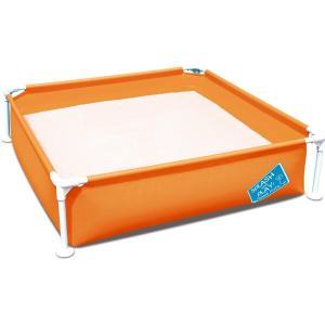 フレームプール ポンプいらずの簡単設置 子供用プール 家庭用プール ファミリープール 暑さ対策 室内...