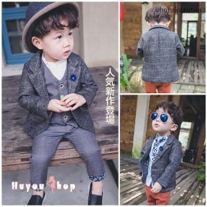 商品名:紳士服 サイズ:80/90/100/110/120 カラー:写真通り セット内容:ジャケット...