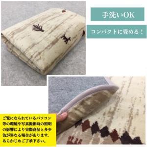 ラグ ホットカーペットカバー 1畳 ギャベ調 上品   おしゃれ 約90×180|choro-aki|02