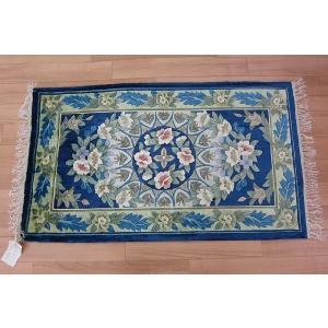 高級玄関マット 玄関マット マット  シルク 手織り 緞通 織物  choro-aki