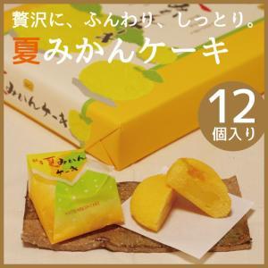 美観月(みかんつき) 12個入り 夏みかんケーキ 山口銘菓|choshuen-y