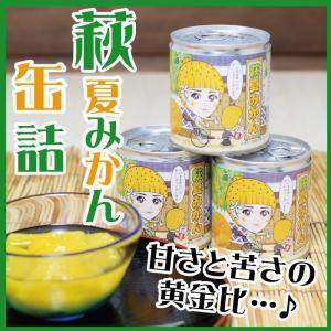 萩夏みかん缶詰 295g 山口 お土産  choshuen-y