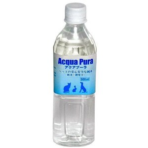アクアプーラ ペットの純水 500ml【犬 猫 小動物】|chouchou-place