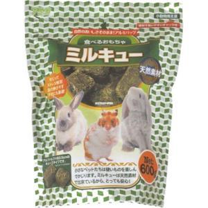 アラタ 食べるおもちゃミルキュー 600g【うさぎ 小動物 牧草】 chouchou-place