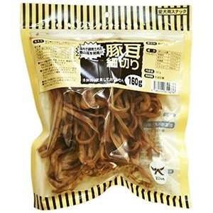 オーシーファーム 豚耳細切り 160g【犬 おやつ 国産 無添加】|chouchou-place