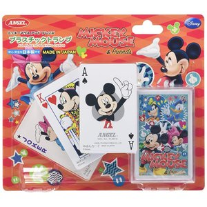 プラスチックトランプ ミッキーマウス<エンゼルプレイングカード>|chouchou-place