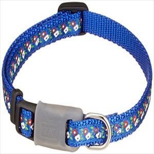 ターキー プッチワン PAフラワーカラー 2S 青 超小型犬 首輪
