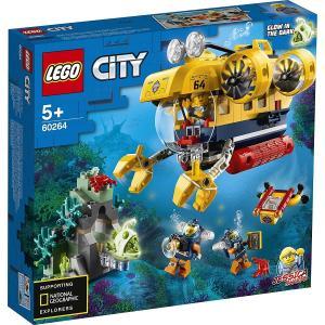 LEGO シティ 海の探検隊 海底探査潜水艦 60264<レゴジャパン>
