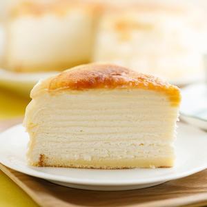 ハロウィン プレゼント ギフト お菓子 スイーツ 2019 ケーキ ミルクレープ 内祝い 送料無料(東北北海道別途600円) 手作りミルクレープ プレーン 6個入り|chouchoucrepe-gift