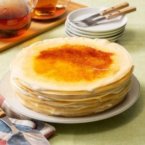 ハロウィン プレゼント ギフト お菓子 スイーツ 2019 ケーキ ミルクレープ 内祝い 手作りミルクレープ プレーン 1ホール|chouchoucrepe-gift