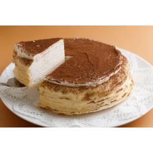 ハロウィン プレゼント ギフト お菓子 スイーツ 2019 ケーキ 誕生日ケーキ ミルクレープ 内祝い 手作りミルクレープ カフェモカ 1ホール|chouchoucrepe-gift