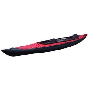 FUJITA CANOE(フジタカヌー) 折りたたみカヌー AL-2-430ERCS レッド×チャコ...