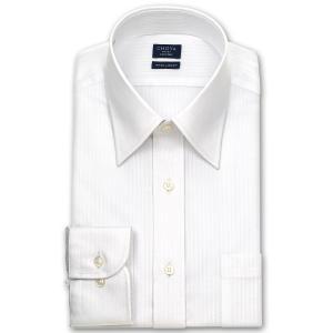 ワイシャツ Yシャツ メンズ 長袖 | CHOYA SHIRT FACTORY | ドビーストライプ レギュラーカラーシャツ おしゃれ|choyashirts