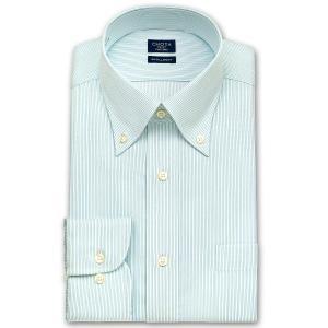 ワイシャツ Yシャツ メンズ 長袖 | CHOYA SHIRT FACTORY | キャンディーストライプ ボタンダウンシャツ おしゃれ 父の日 プレゼント ギフト 父親 お父さん|choyashirts