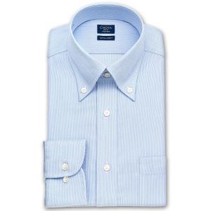 ワイシャツ Yシャツ メンズ 長袖 | CHOYA SHIRT FACTORY | ブルーツイル ボタンダウンシャツ|choyashirts