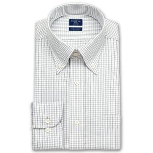 ワイシャツ Yシャツ メンズ 長袖 | CHOYA SHIRT FACTORY | グラフチェック ボタンダウンシャツ|choyashirts