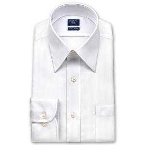 ワイシャツ Yシャツ メンズ 長袖 | CHOYA SHIRT FACTORY | 形態安定 ヘリンボーンストライプ レギュラーカラーシャツ|choyashirts