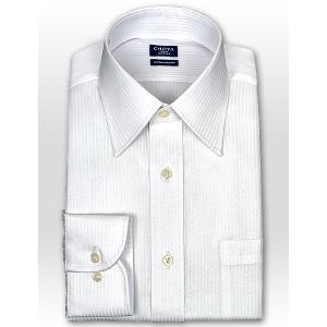 ワイシャツ Yシャツ メンズ 長袖 | CHOYA SHIRT FACTORY | 綿100% 形態安定加工 ドビーストライプ レギュラーカラー おしゃれ|choyashirts|02
