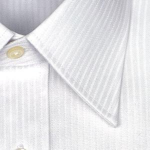 ワイシャツ Yシャツ メンズ 長袖 | CHOYA SHIRT FACTORY | 綿100% 形態安定加工 ドビーストライプ レギュラーカラー おしゃれ|choyashirts|03