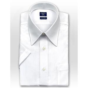 ワイシャツ Yシャツ メンズ 半袖   CHOYA SHIRT FACTORY   綿100% 形態安定加工 ブロード レギュラーカラーシャツ おしゃれ choyashirts