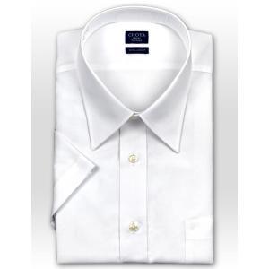 ワイシャツ Yシャツ メンズ 半袖 | CHOYA SHIRT FACTORY | 綿100% 形態安定加工 白ブロード レギュラーカラー おしゃれ|choyashirts