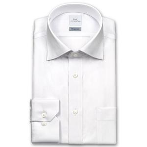 ワイシャツ Yシャツ メンズ 長袖   SHIRT MAKER CHOYA   形態安定 標準体 TCツイル ワイドカラーシャツ おしゃれ choyashirts