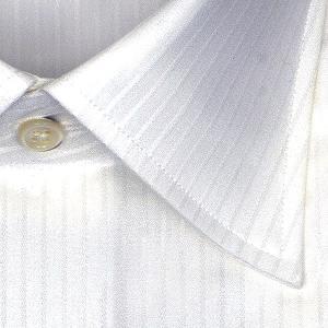 ワイシャツ Yシャツ メンズ 長袖 | CHOYA 1886 | 日本製 綿100% 白ドビー ワイドカラー ドレスシャツ おしゃれ|choyashirts|03