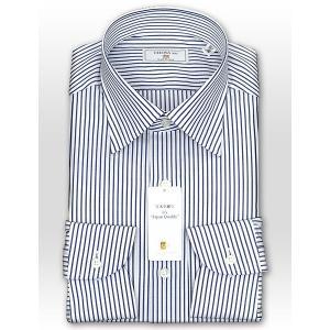 ワイシャツ Yシャツ メンズ 長袖 | CHOYA 1886 | 日本製 綿100% ロンドンストライプ ワイドカラーシャツ おしゃれ|choyashirts