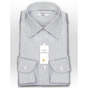 ワイシャツ Yシャツ メンズ 長袖 | CHOYA 1886 | 日本製 綿100% ピンストライプ ワイドカラー ドレスシャツ おしゃれ|choyashirts